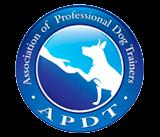 apdt association of professional dog trainers member logo