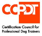 ccpdt certification council for pro dog trainers logo