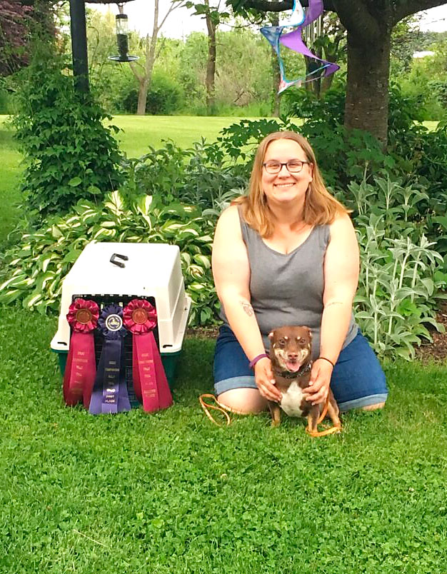 award winning dog trainer kailly muthard